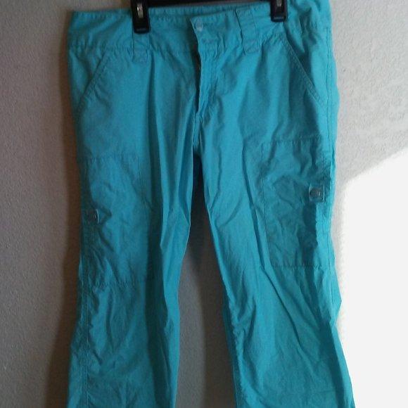 Neptune Blue Capri Pants
